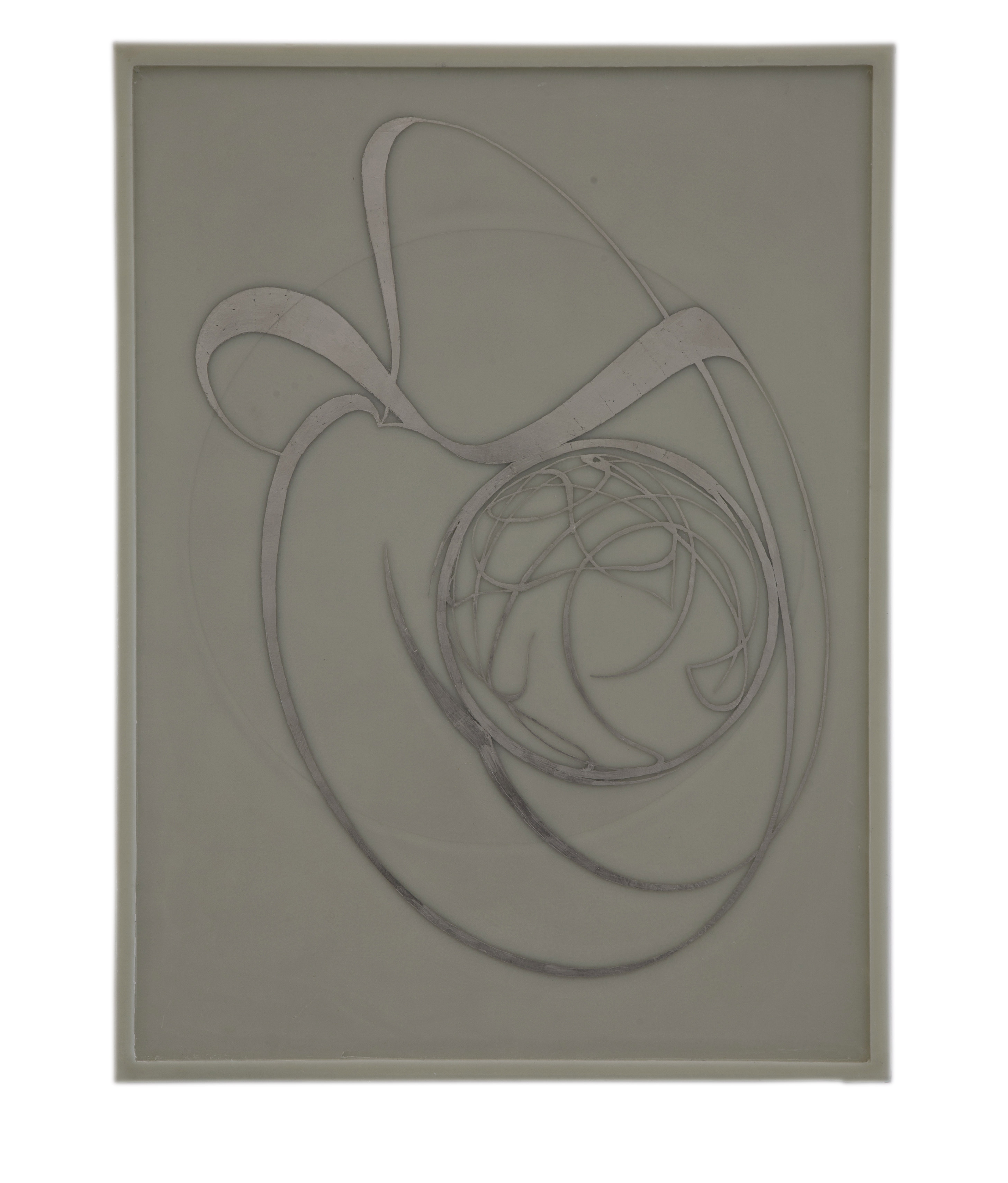 Bianchi, Untitled, wax and palladium on board and canvas, 2012, 80 x 60. B