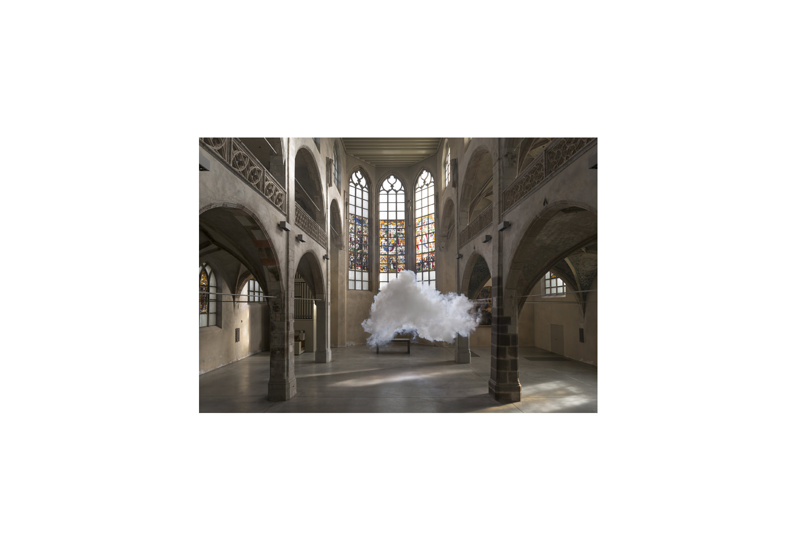 Berndnaut Smilde, Nimbus Sankt Peter, 2014, digital c-type print on aluminium, 125 x 181 cm, 75 x 109 cm, ed. of 6+2 ap