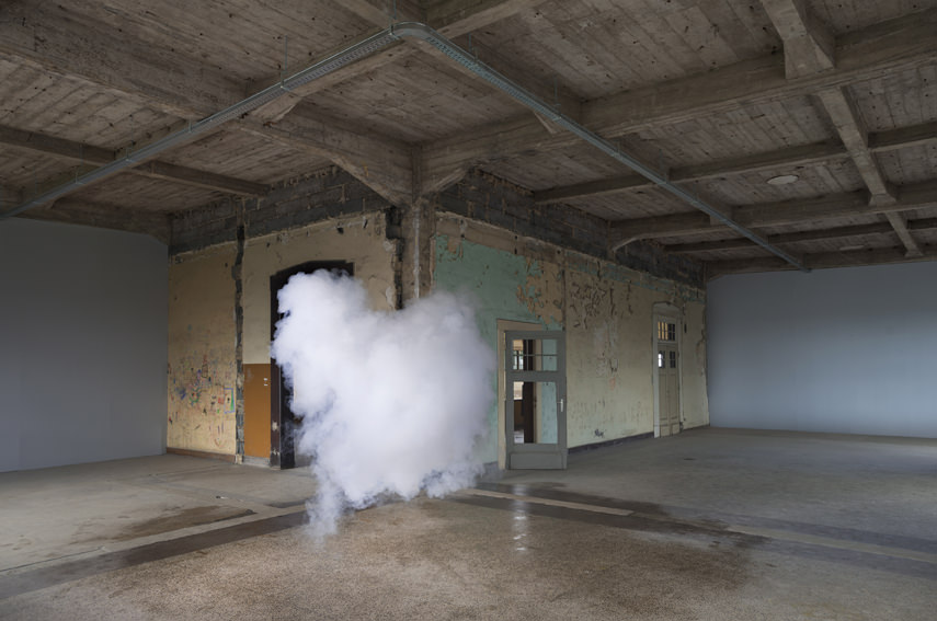Berndnaut Smilde  Nimbus Thor, 2014  digital c-type print mounted on aluminium with subframe 75 x 113 cm 125 x 188 cm