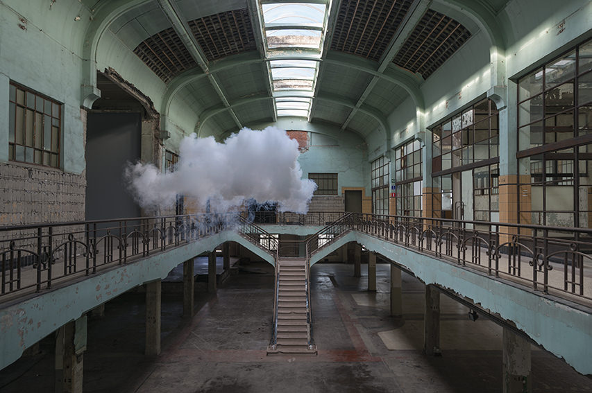 Berndnaut Smilde  Nimbus Waterschei, 2014  digital c-type print on aluminium 125 x 188 cm 75 x 113 cm
