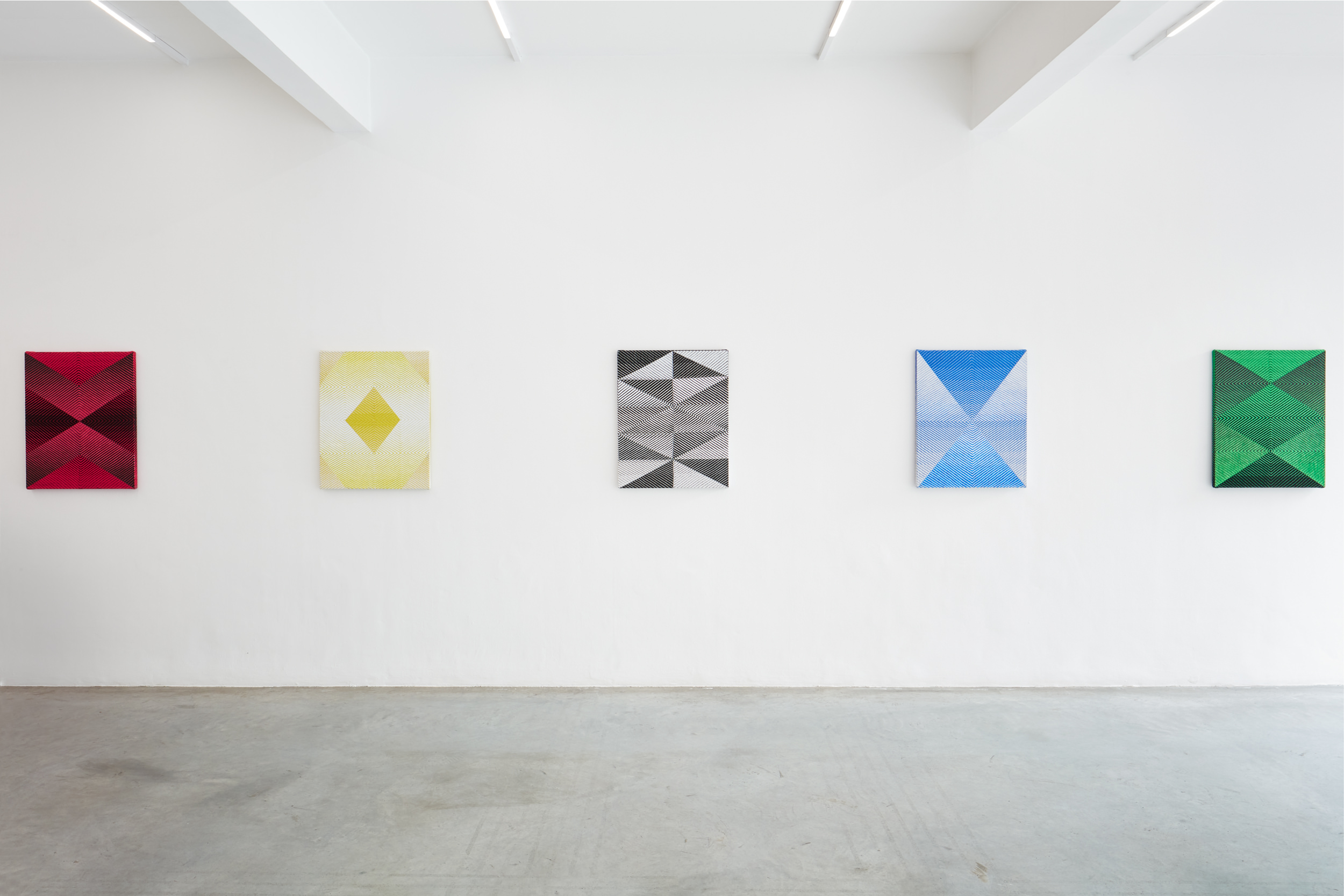 Samantha Bittman, Shift, Installation view 2