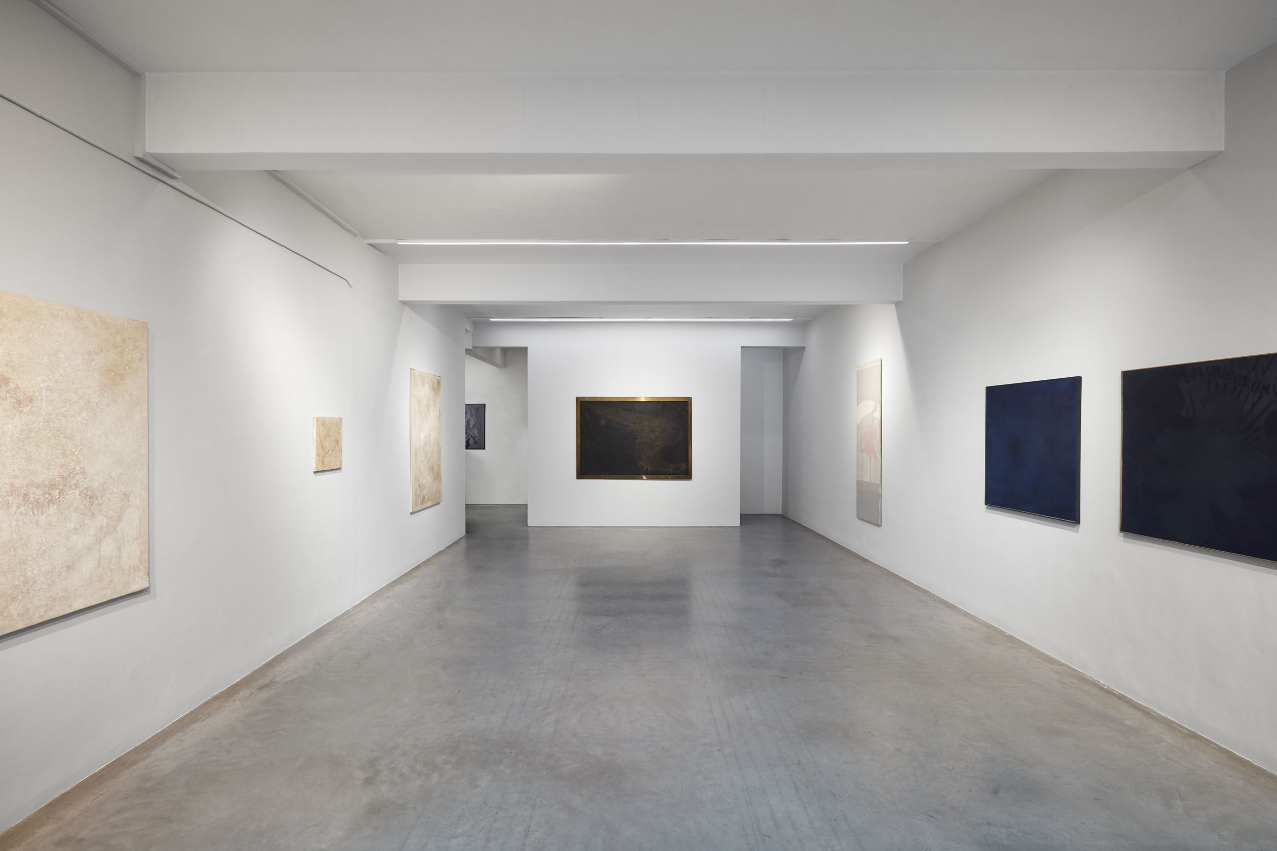Franco Angeli, A Selection of Artworks from Important European Collections, Installation View 3