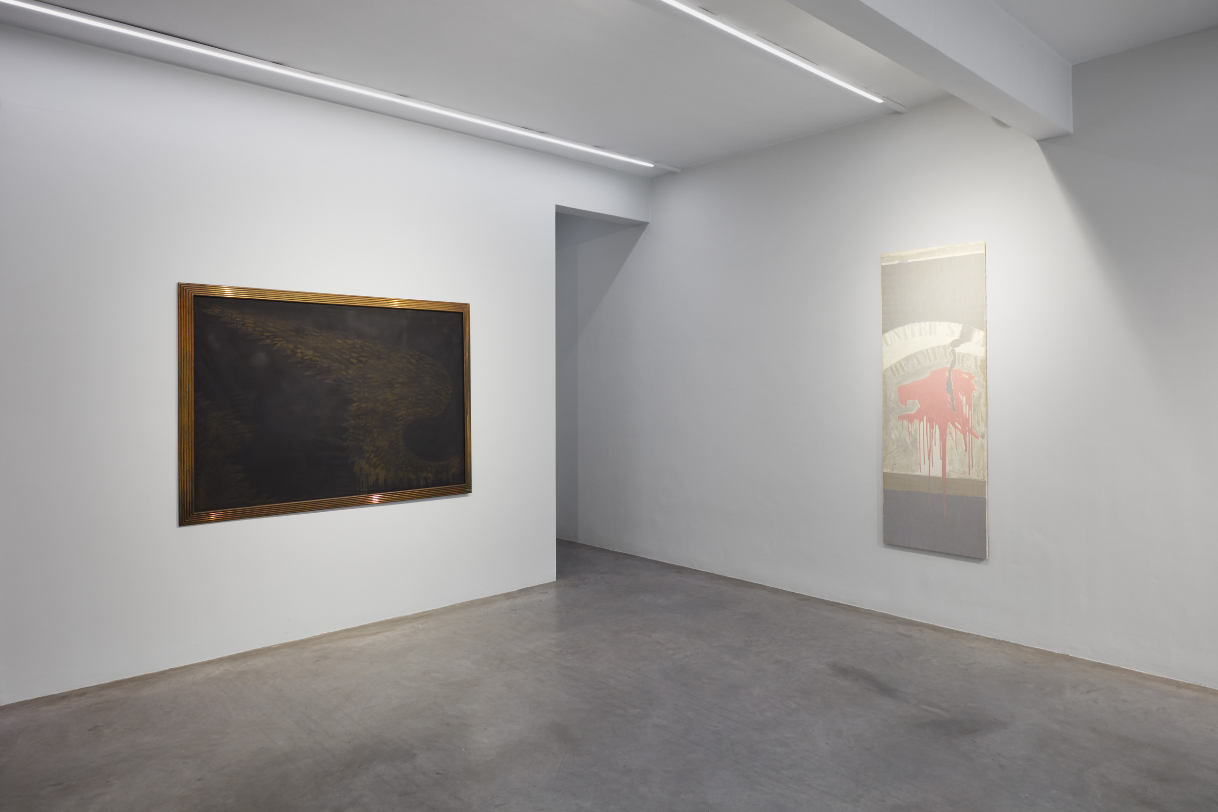 Franco Angeli, A Selection of Artworks from Important European Collections, Installation View 7