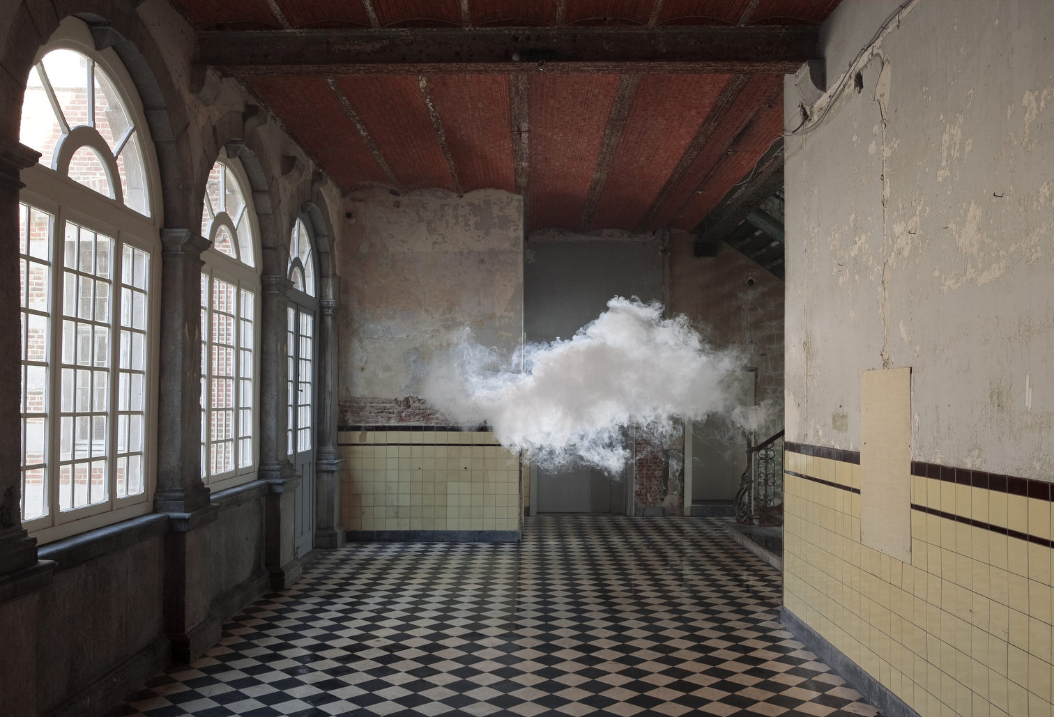 Berndnaut Smilde  Nimbus D'Aspremont, 2012  digital C-type print on dibond 75 x 112 cm