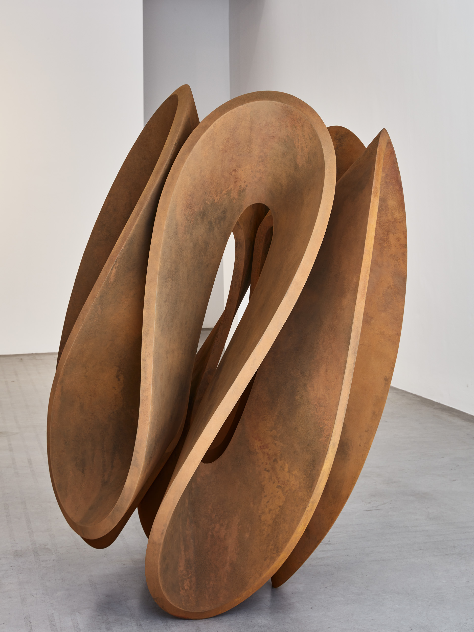 Gianpietro Carlesso, Essenza, 2017 corten steel, 155 x 113 x 108 cm Ed. 3 of 8