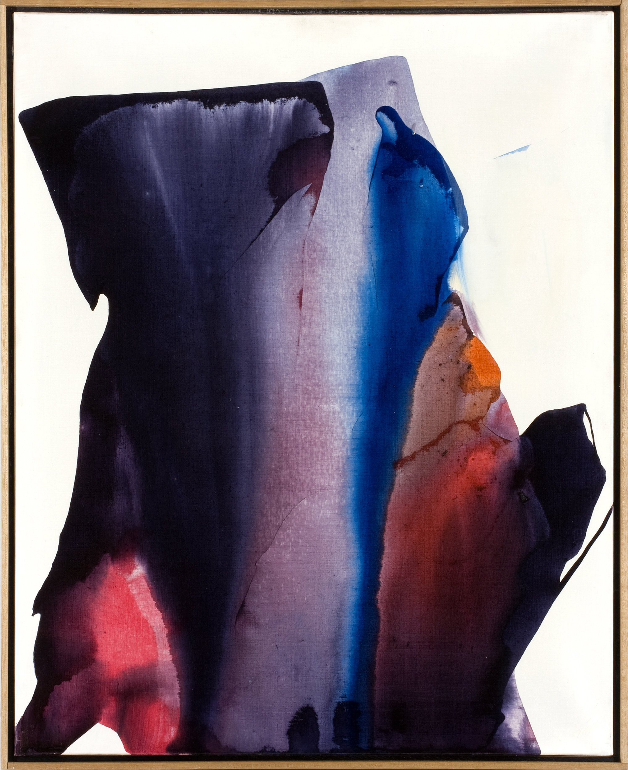 Paul Jenkins,Phenomen Nightwood,1962,acrylic on canvas,80.6×64.8cm,31 3:4×25 1:2in(PJe300004)