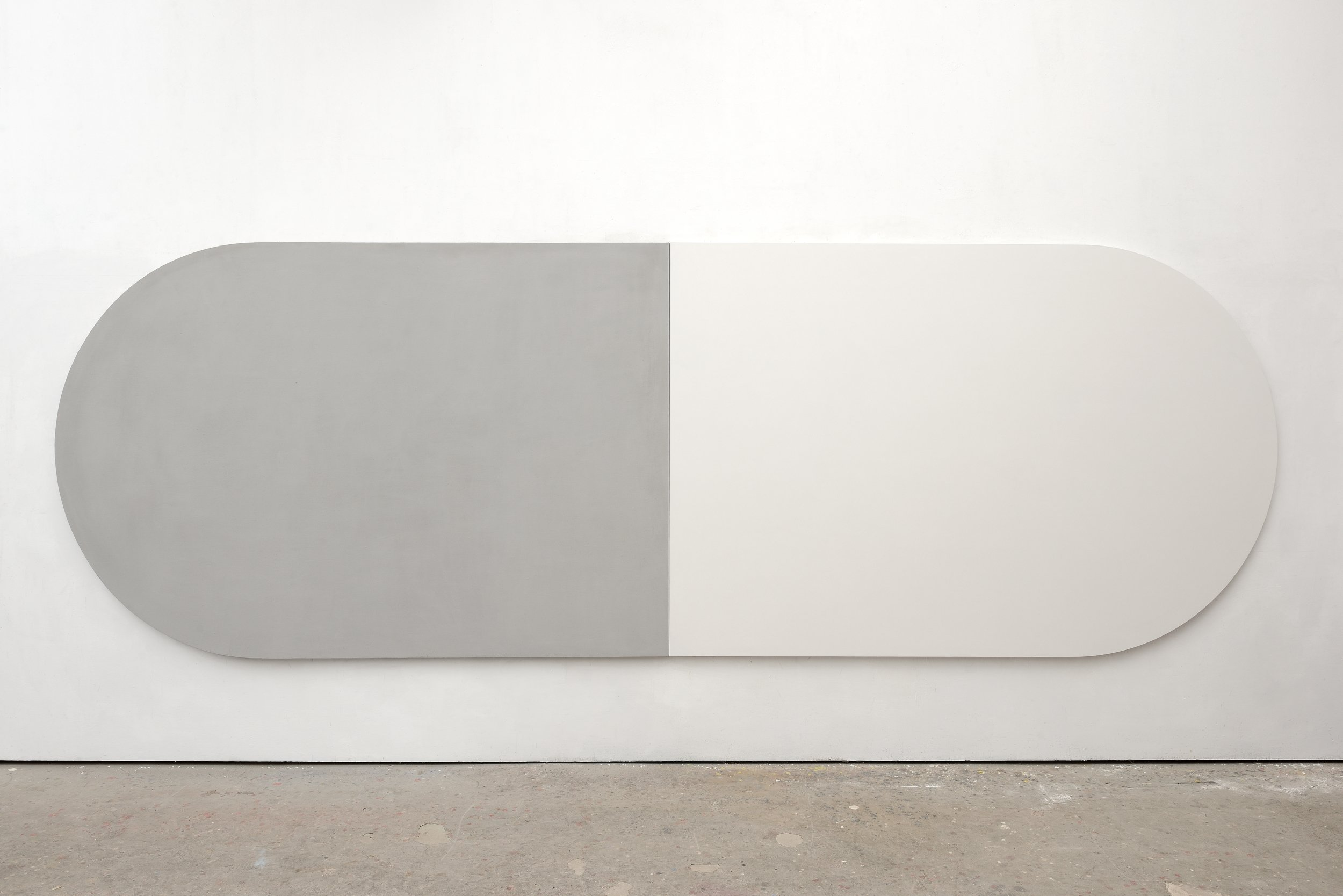 Paolo Serra Untitled, 2019 oil on canvas per canvas:  250 x 167 cm 98 3/8 x 65 3/4 in